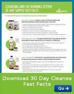 IsaGenix 30 Day cleanse fast facts