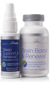 IsaGenix New Brain & Sleep Support System Products