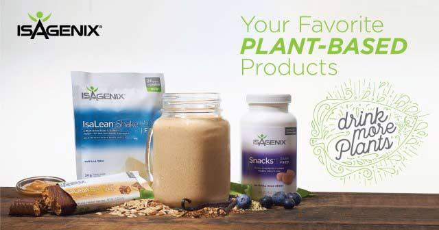 IsaGenix Plant Baserd Protein Products