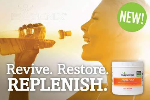 Isagenix Replenish Sports Energy Drink