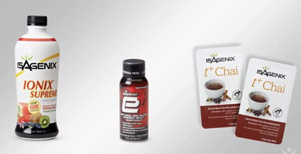 Isagenix Adaptogen products