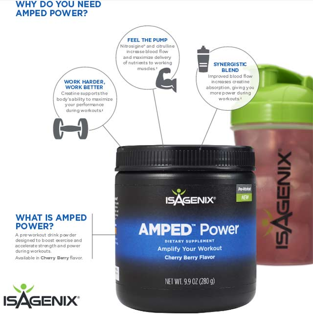Isagenix Power Nitric Oxide Powder