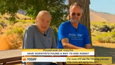 Dr Bill Andrews on Today Show