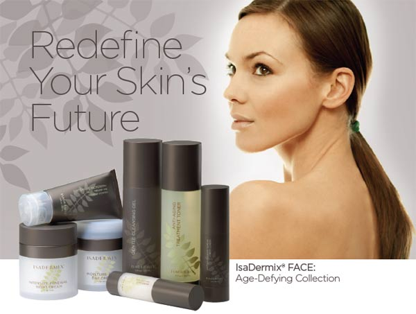 IsaDermix Face: Age-Defying Collection Skincare Products