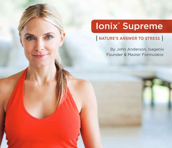 IsaGenix Ionix Supreme Nature's Answer to Stress