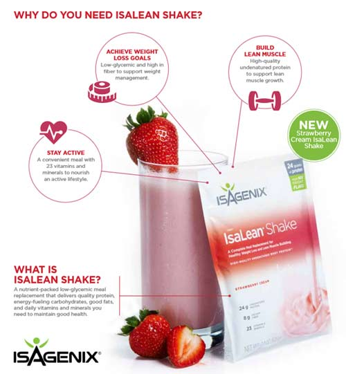 Need for IsaLean Protein Shake