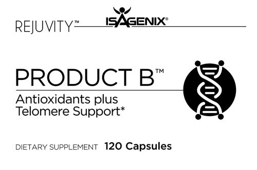 Product B Antioxidants Plus Telomeres Support Logo