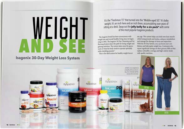 IsaGenix In Transformed Live Magazine